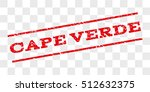 cape verde watermark stamp....   Shutterstock .eps vector #512632375