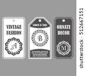 vector frames design. vintage...   Shutterstock .eps vector #512667151