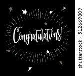congratulations.... | Shutterstock .eps vector #512669809