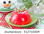 new year and christmas cake... | Shutterstock . vector #512710309