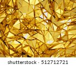 geometric three dimensional... | Shutterstock . vector #512712721