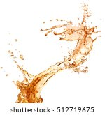 juice splash | Shutterstock . vector #512719675
