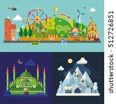 modern flat design conceptual... | Shutterstock .eps vector #512726851