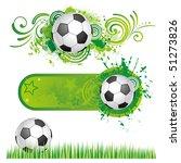 soccer design element