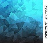 blue polygon background.polygon ...   Shutterstock .eps vector #512746561