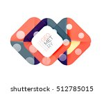 modern square abstract... | Shutterstock .eps vector #512785015