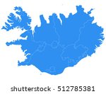vector map iceland country on... | Shutterstock .eps vector #512785381