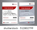 auto repair brochure templates  ... | Shutterstock .eps vector #512802799