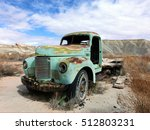 Abandoned Vintage Rusty Truck...