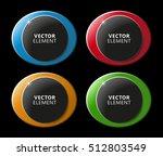 high quality modern circular... | Shutterstock .eps vector #512803549