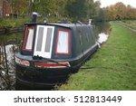 narrow boat on the leeds...