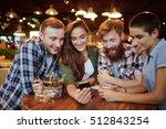 young friends | Shutterstock . vector #512843254