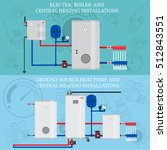 electric boiler and central