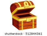 treasure chest | Shutterstock .eps vector #512844361