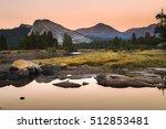 autumn sunset at tuolumne...   Shutterstock . vector #512853481