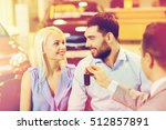 auto business  sale and people... | Shutterstock . vector #512857891