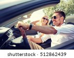 road trip  travel  dating ... | Shutterstock . vector #512862439