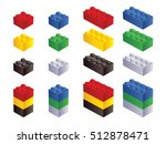 toy building block bricks for... | Shutterstock .eps vector #512878471