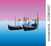 Gondolas In Venice Italy ...