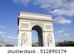 arc de triomphe   paris   france | Shutterstock . vector #512890174