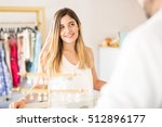 portrait of a gorgeous young... | Shutterstock . vector #512896177