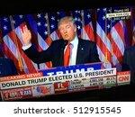 november 9  2016  cnn... | Shutterstock . vector #512915545