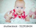 beautiful portrait of... | Shutterstock . vector #512918434