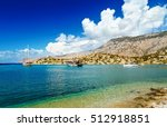 panorama of the bay of... | Shutterstock . vector #512918851