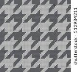 knitted vector seamless pattern ... | Shutterstock .eps vector #512934211