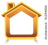 3d house | Shutterstock .eps vector #51294004