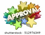 approval good answer accepted... | Shutterstock . vector #512976349