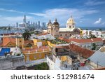 view of cartagena de indias ... | Shutterstock . vector #512981674