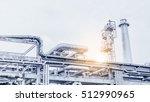 industrial zone the equipment... | Shutterstock . vector #512990965