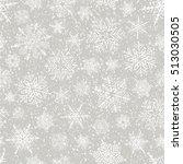 holiday backdrop  snowflake... | Shutterstock .eps vector #513030505