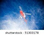 Heli Skiing Helicopter Is...