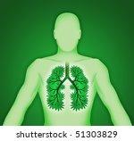 human body three dimensional... | Shutterstock . vector #51303829