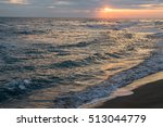 Bright Dawn Over Mediterranean...