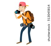 photographer professional... | Shutterstock .eps vector #513045814