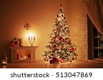 feast of the nativity.... | Shutterstock . vector #513047869