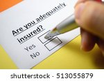 Small photo of Are you adequately insured? Yes.