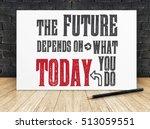 "Inspiration Quote   ""the Future ..."