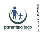 parenting logo  family logo | Shutterstock .eps vector #513072061