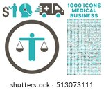 grey and cyan lawyer vector... | Shutterstock .eps vector #513073111