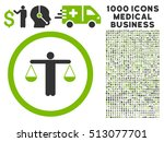 eco green and gray lawyer... | Shutterstock .eps vector #513077701