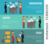logistic and transportation... | Shutterstock .eps vector #513082234