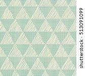 vector abstract seamless doodle ... | Shutterstock .eps vector #513091099