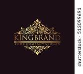 luxury logo | Shutterstock .eps vector #513099691