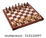 wooden chess pieces | Shutterstock . vector #513110497
