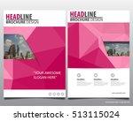 modern elegance annual report... | Shutterstock .eps vector #513115024
