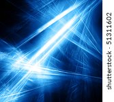 beautiful ice blue fractal... | Shutterstock . vector #51311602